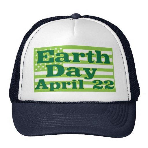 Jour de la terre 22 avril casquette