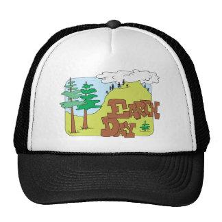 Jour de la terre (3) casquettes de camionneur