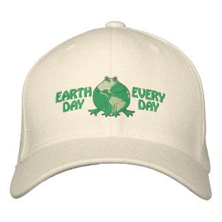 Jour de la terre ambiant casquette de baseball brodée
