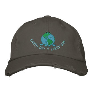 Jour de la terre ambiant casquette brodée