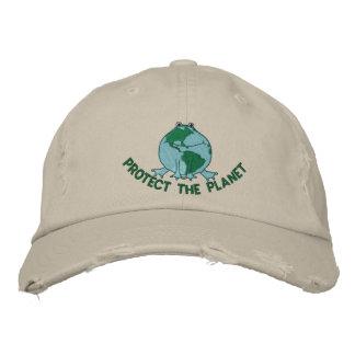Jour de la terre ambiant casquette de baseball