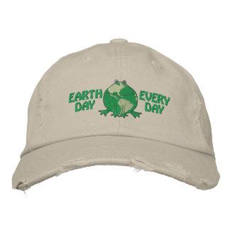 Jour de la terre ambiant casquettes brodées