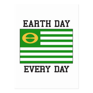 Jour de la terre carte postale