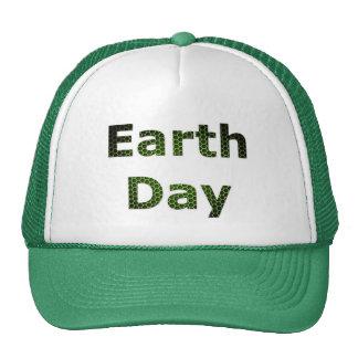 Jour de la terre casquettes de camionneur