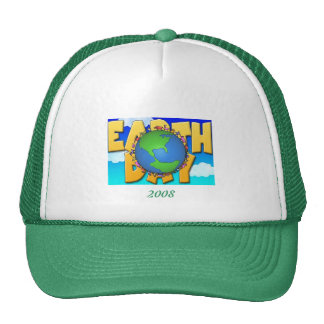 Jour de la terre, casquette 2008