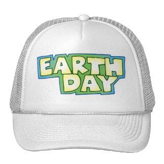 jour de la terre casquette trucker