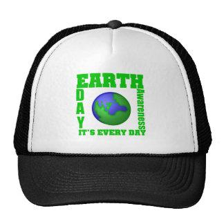 Jour de la terre c'est chaque jour casquettes