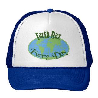 Jour de la terre chaque casquette de jour