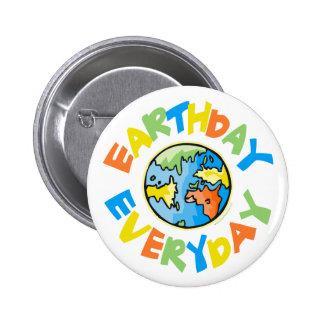 Jour de la terre chaque jour badge