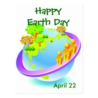 Jour de la terre chaque jour cartes postales