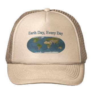 Jour de la terre chaque jour casquette de camionneur