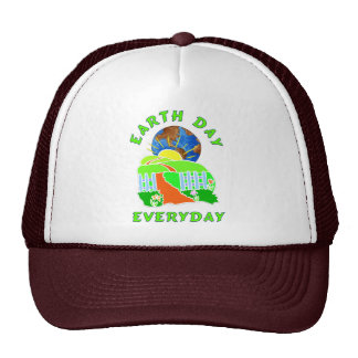Jour de la terre chaque jour casquettes