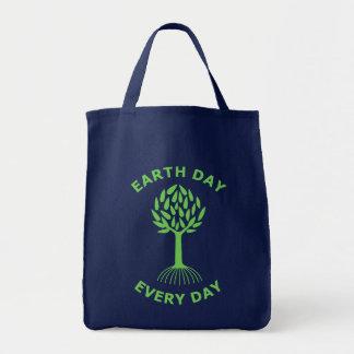 Jour de la terre chaque jour sac