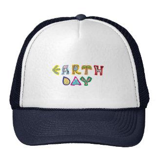 Jour de la terre coloré frais casquette