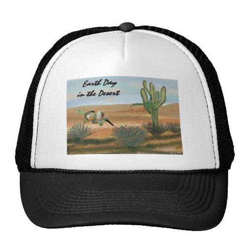 Jour de la terre dans le chapeau de désert casquettes de camionneur