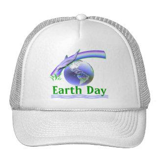 Jour de la terre de dauphin casquette de camionneur