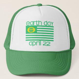 Jour de la terre drapeau casquette du 22 avril