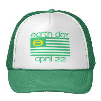 Jour de la terre drapeau chapeau du 22 avril casquettes