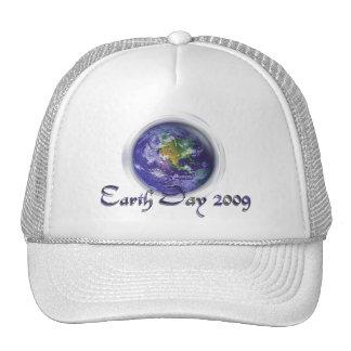 jour de la terre du globe 3D Casquettes