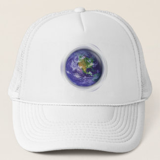 jour de la terre du globe 3D Casquette