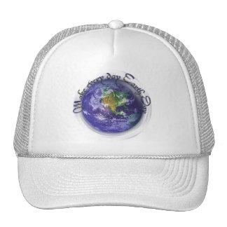 jour de la terre du globe 3D Casquettes De Camionneur