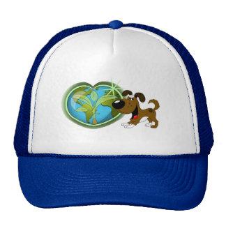 Jour de la terre et bottes casquette trucker