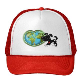 Jour de la terre et ombre casquette de camionneur
