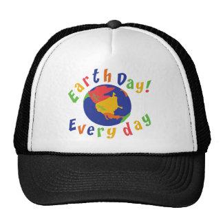 Jour de la terre quotidien casquettes de camionneur