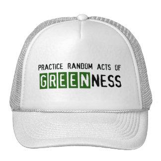 Jour de la terre - soyez vert casquette de camionneur