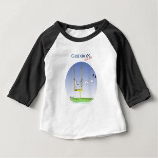 Jour de lavage de gril, fernandes élégants t-shirt pour bébé
