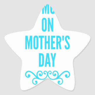 jour de mères de #stepmomlove sticker étoile