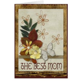 Jour de mères d'éléments de chute cartes