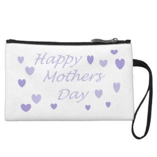 Jour de mères heureux de Lavendar Sacs À Main Avec Anse