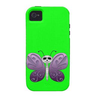 Jour de papillon de la conception morte coques vibe iPhone 4