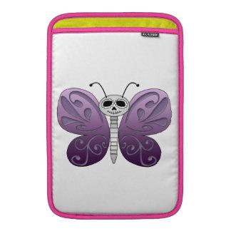 Jour de papillon de la conception morte poches pour macbook air