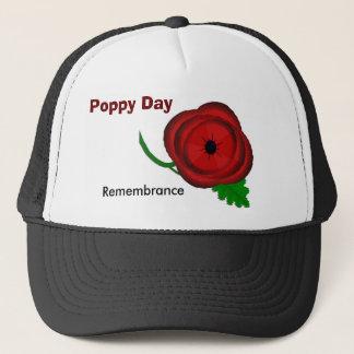 Jour de pavot, casquette de souvenir