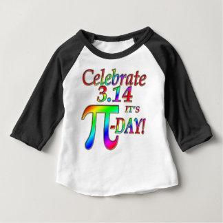 Jour de pi t-shirt pour bébé