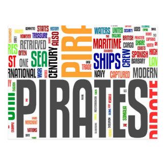 Jour de pirate cartes postales
