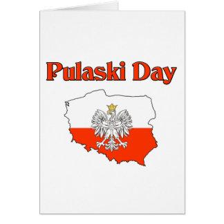 Jour de Pulaski Cartes