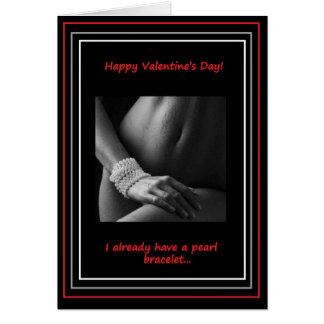Jour de Valentine :  Collier de perle Cartes
