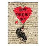 Jour de Valentines romantique de corneille Carte De Vœux