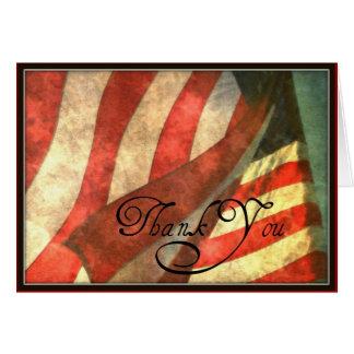 Jour de vétérans, carte de voeux militaire de Merc