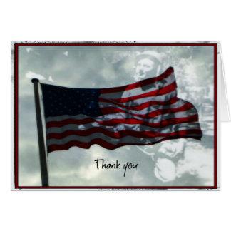 Jour de vétérans, drapeau américain et vétéran de carte de vœux