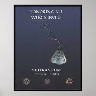 Jour de vétérans vintage, 2005 - posters