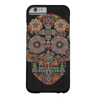 Jour du cas mort de l'iPhone 6 de crâne de sucre Coque Barely There iPhone 6
