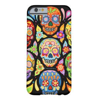 Jour du cas mort de l'iPhone 6 de crânes par Coque Barely There iPhone 6