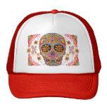 Jour du chapeau mort de crâne de sucre de chapeau casquettes