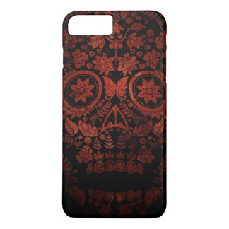 Jour du crâne mort coque iPhone 8 plus/7 plus