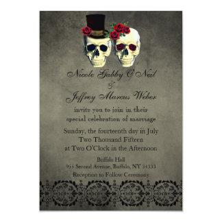 Jour du faire-part de mariage mort de jeunes