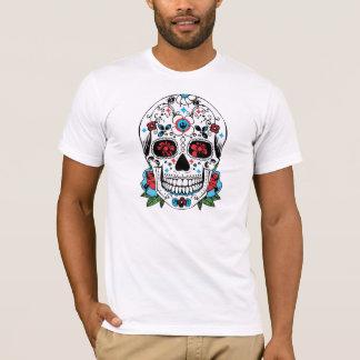Jour du T-shirt mexicain mort de crâne